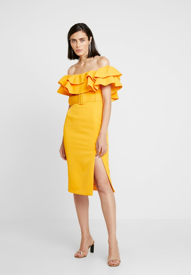 ISLAND NIGHTS DRESS - Day dress - citrus