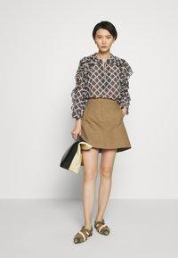 MAX&Co. - CAVILLO - A-line skirt - brown - 1