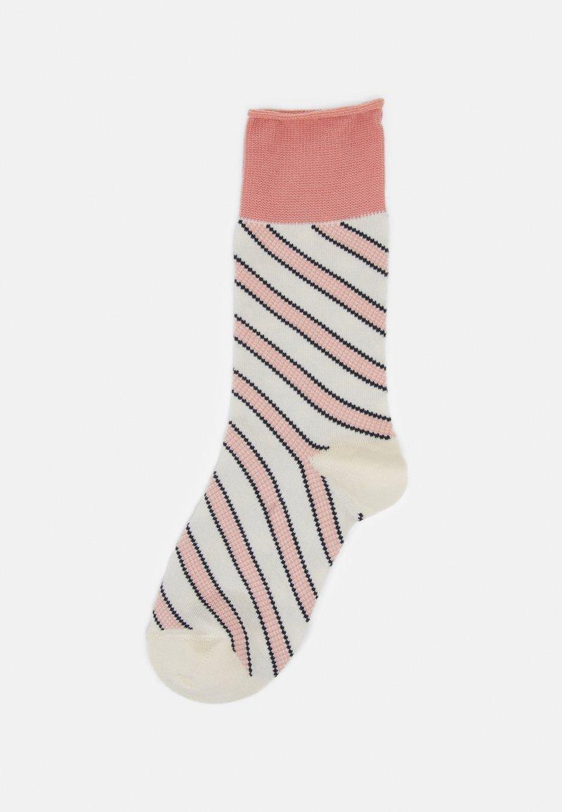 Dear Denier - INGRID SLANTS - Socks - rose/offwhite