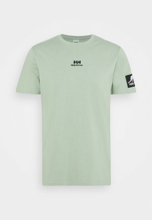 TWIN LOGO  - Basic T-shirt - eucalyptus
