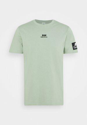 TWIN LOGO  - T-shirt basique - eucalyptus
