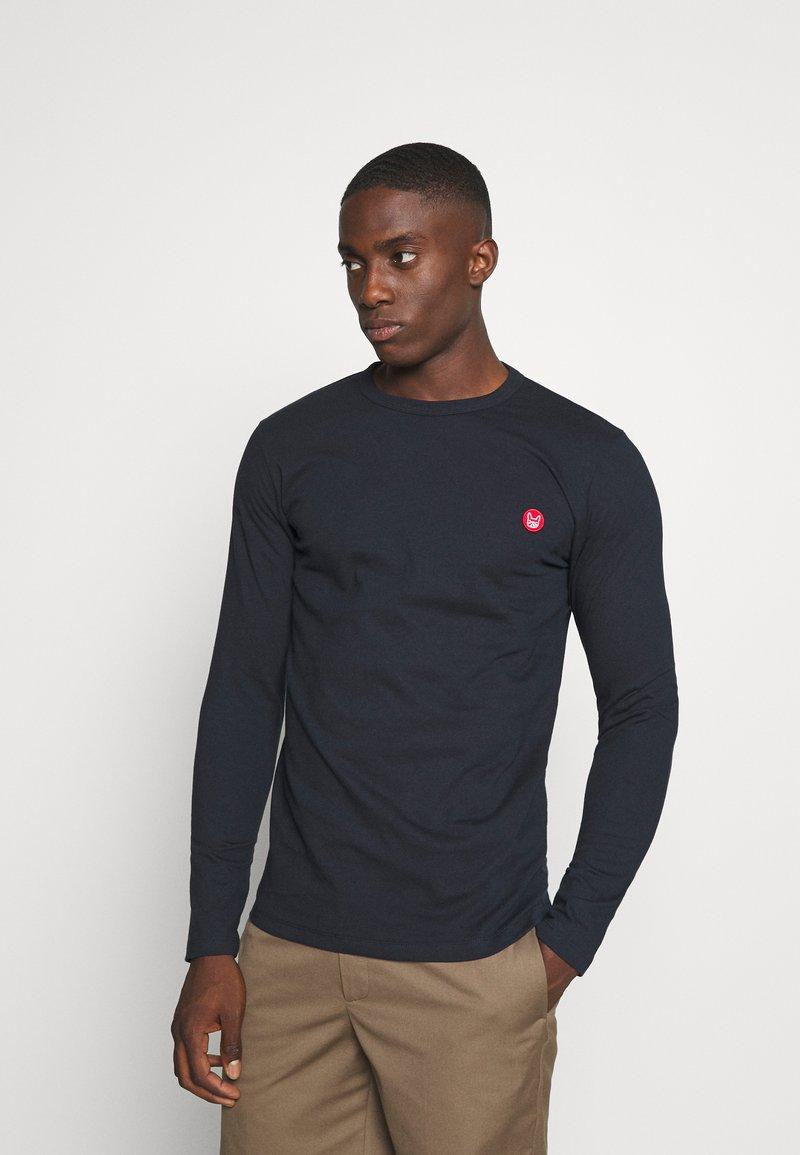 Jack & Jones - JJELONG  - Långärmad tröja - navy blazer