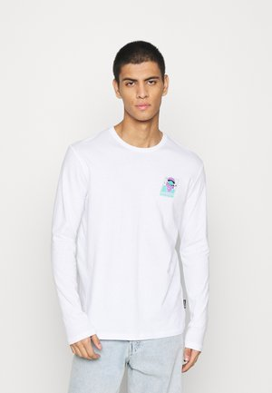 UNISEX - Long sleeved top - white