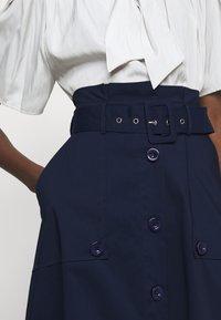 Steffen Schraut - FANCY SKIRT - A-line skirt - navy blue - 4