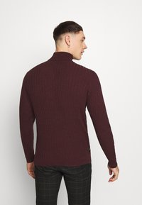 Zign - Jumper - mottled bordeaux - 2