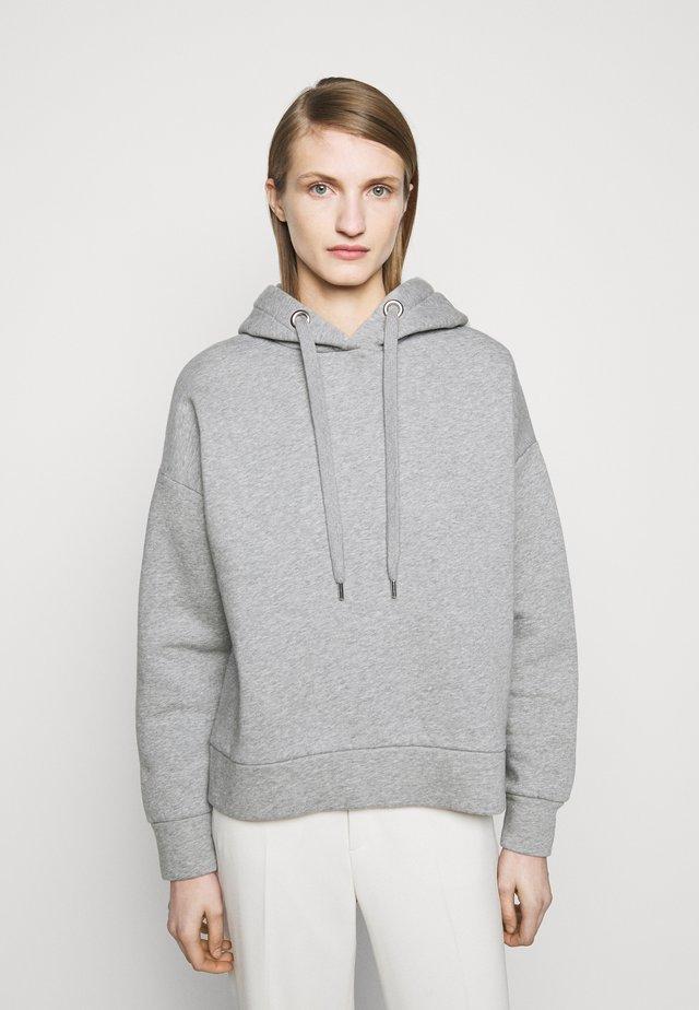Collegepaita - grey heather melange