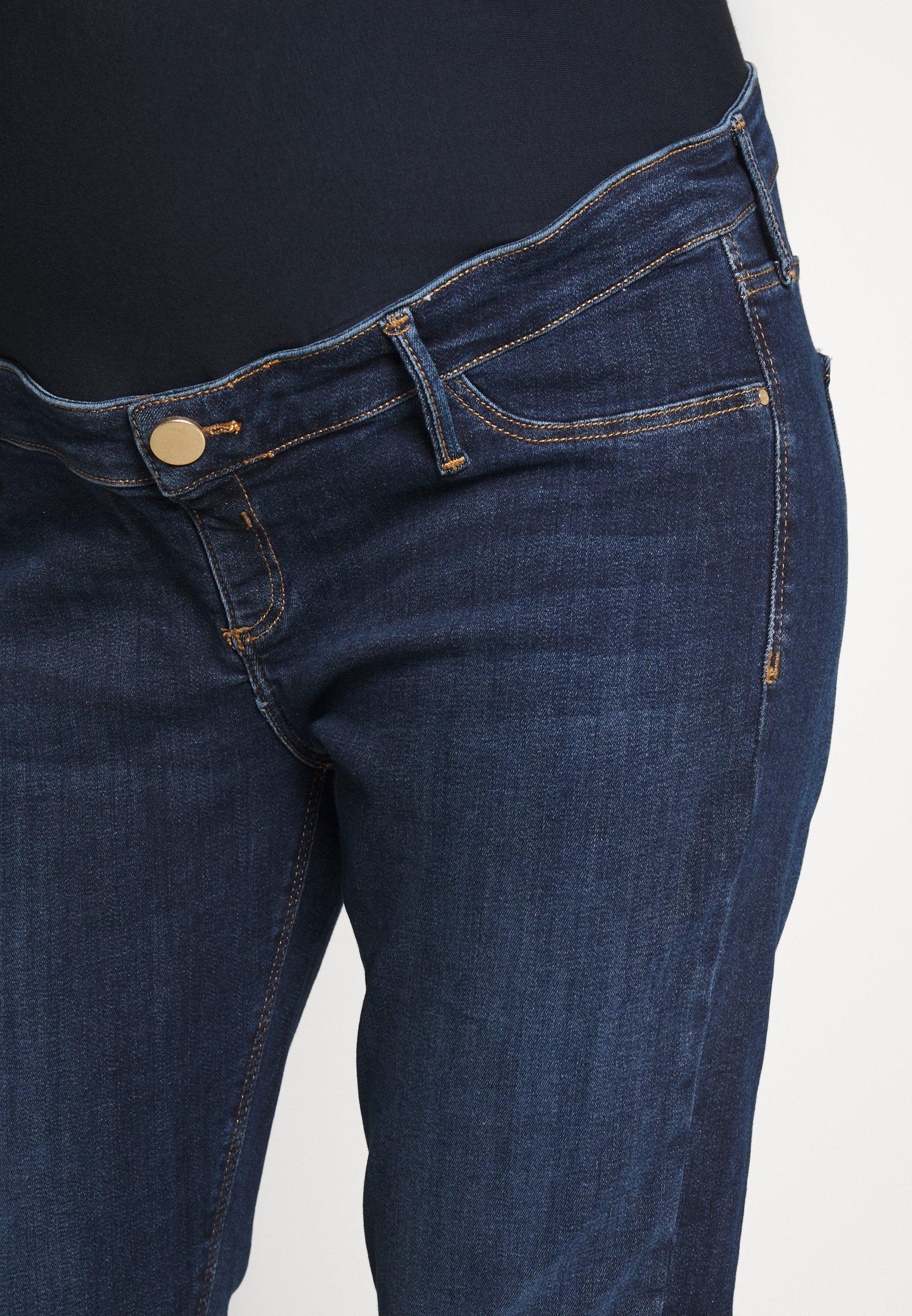 River Island Maternity MOLLY  - Jeans Skinny - dark auth - Jeans Femme JOzXA