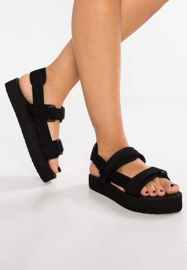 VMLIA - Sandały na platformie - black