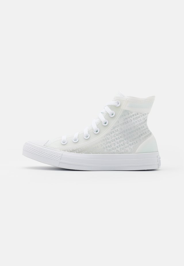 CHUCK TAILOR ALL STAR UNISEX - Sneakers alte - white/transluscent