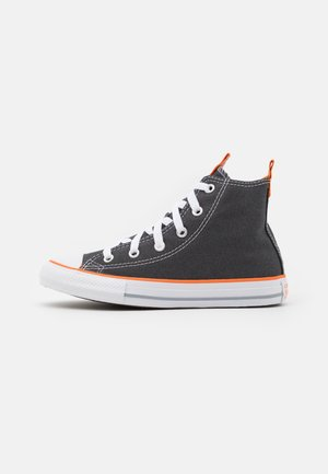 CHUCK TAYLOR ALL STAR SEASONAL UNISEX - Sneaker high - storm wind/magma orange/white