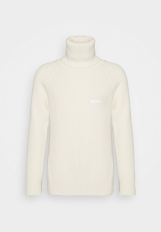 TURTLENECK SWEATER - Strikkegenser - white