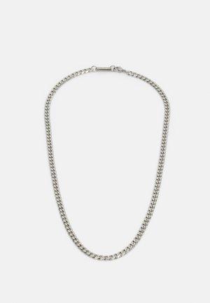 CURB CHAIN - Halsband - silver-coloured