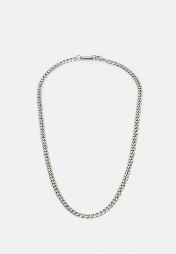 CURB CHAIN - Necklace - silver-coloured