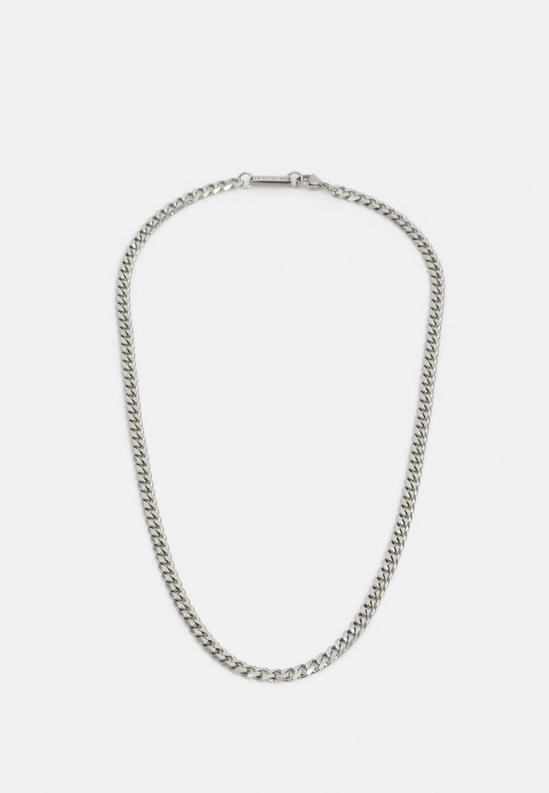 Icon Brand - CURB CHAIN - Necklace - silver-coloured