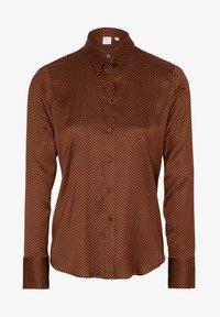 Eterna - Button-down blouse - bronze - 3
