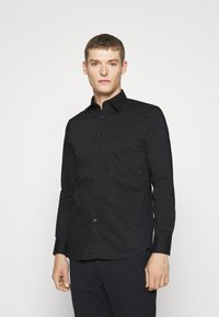 Benetton - BASIC - Formal shirt - black - 0