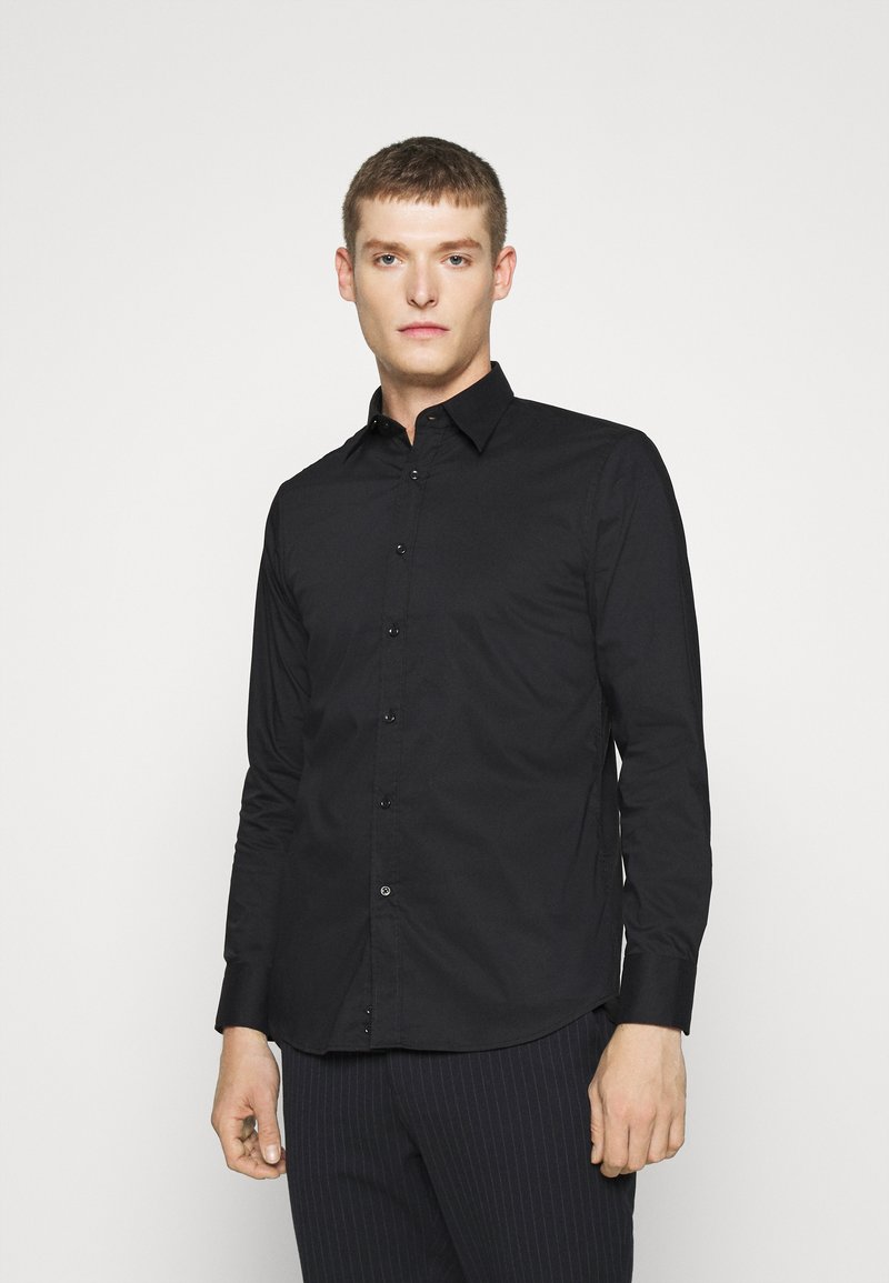 Benetton - BASIC - Formal shirt - black