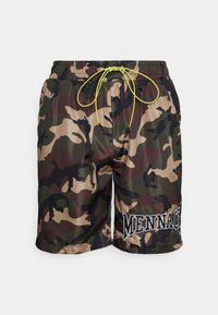 Mennace - CAMO PULL ON - Shorts - khaki - 4