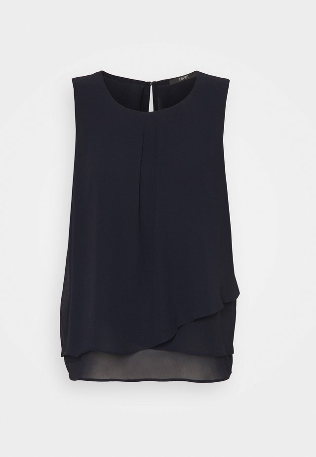 NEW TO REPEAT - Blusa - navy