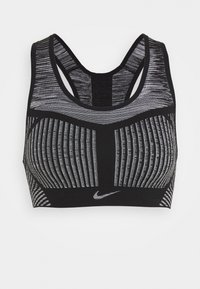 FE/NOM FLYKNIT BRA - Sport-bh met medium support - black/white