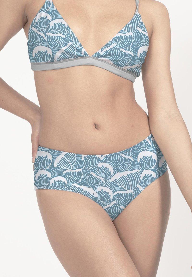 boochen - AMAMI - Bikini bottoms - blau