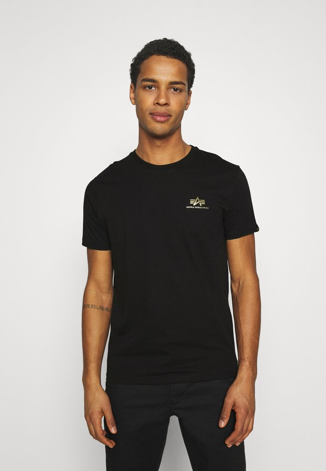 FOIL EXCLUSIVE - T-shirts print - black/yellow gold