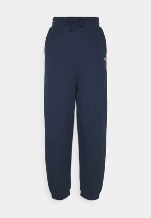 RELAXED BADGE - Pantalon de survêtement - twilight navy