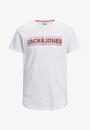 VORDERLOGO - T-shirt con stampa - white