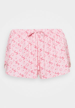 SHORT LUCKY - Pyjama bottoms - almond blossom