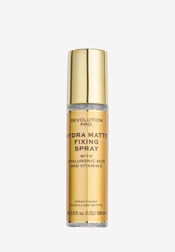 HYDRA-MATTE FIXING SPRAY - Setting spray & powder - -