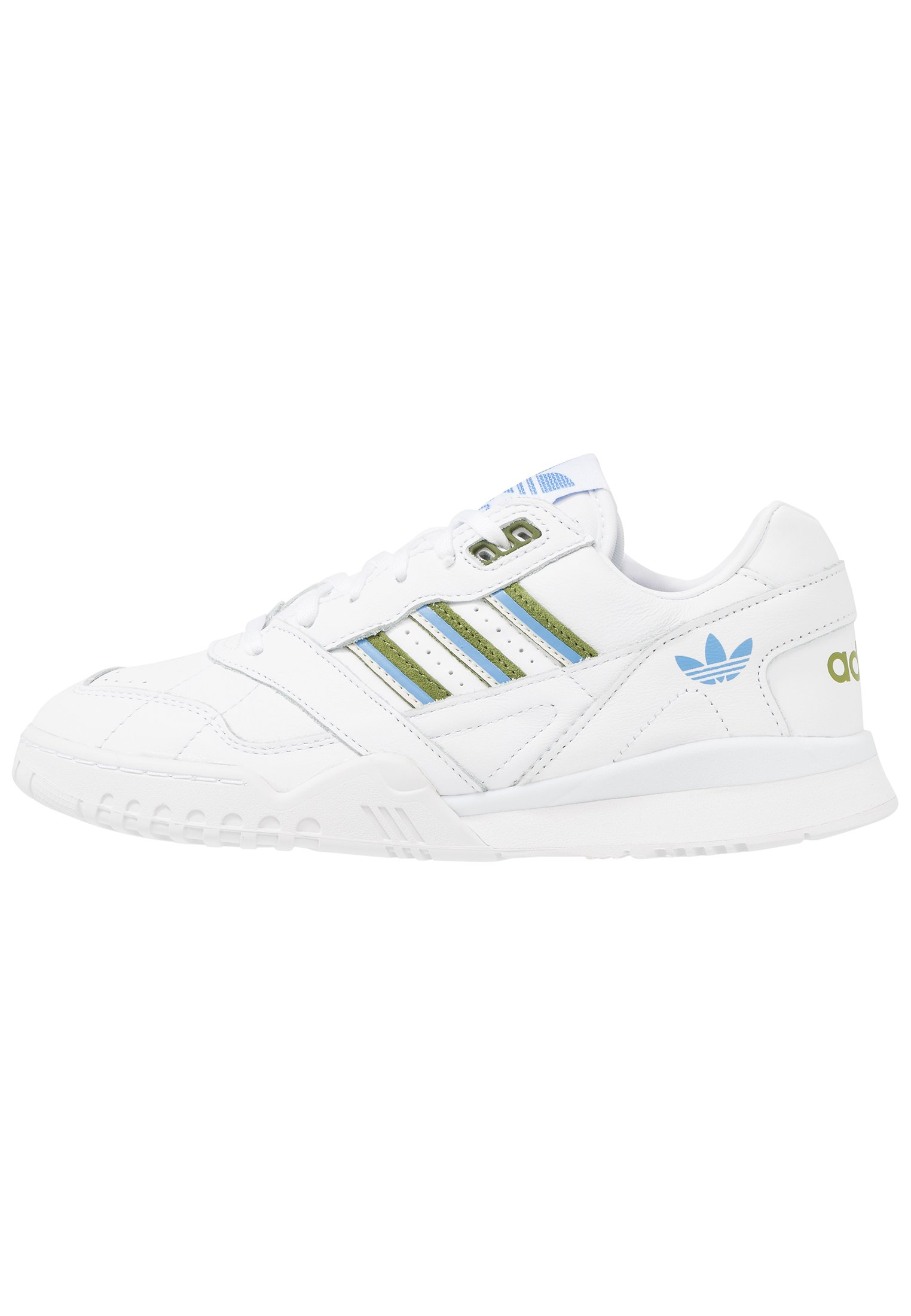 A.R. TRAINER Sneaker low footwear whitetech olivereal blue
