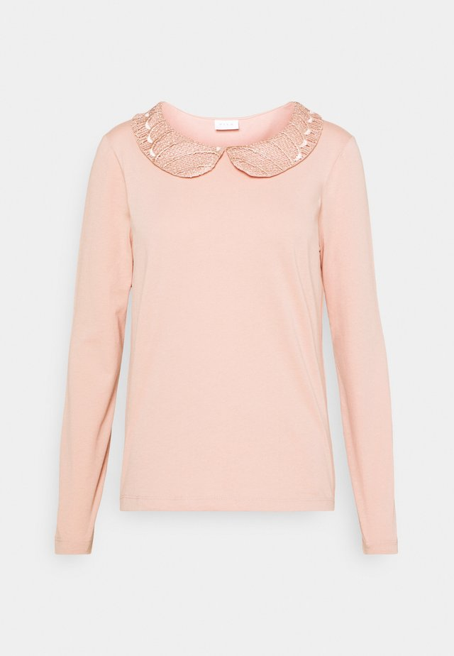 VICOLLAR - T-shirt à manches longues - misty rose