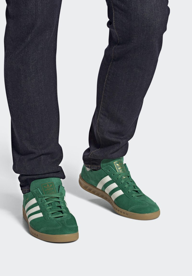 adidas Originals - HAMBURG TERRACE - Sneakers basse - green off white gum
