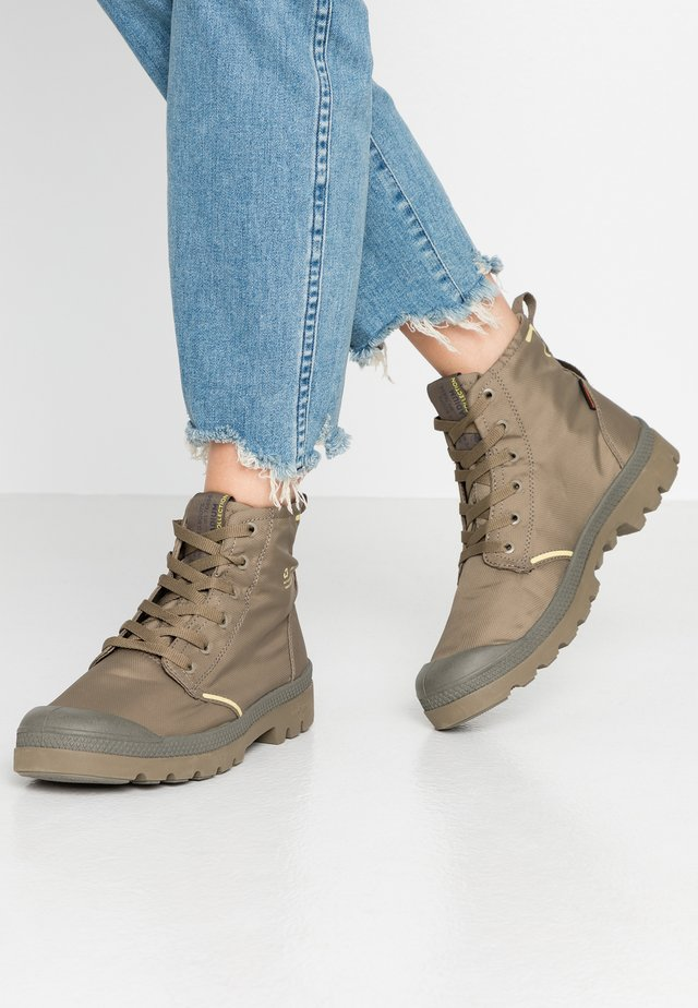 PAMPA LITE+ WP+ - Lace-up ankle boots - dusky green