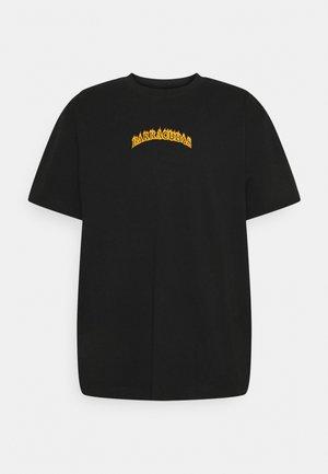OVERSIZED PRINTED UNISEX - T-shirt med print - black