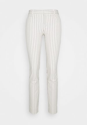 MODERN SLOAN BELLENSTRIPE - Trousers - white/navy
