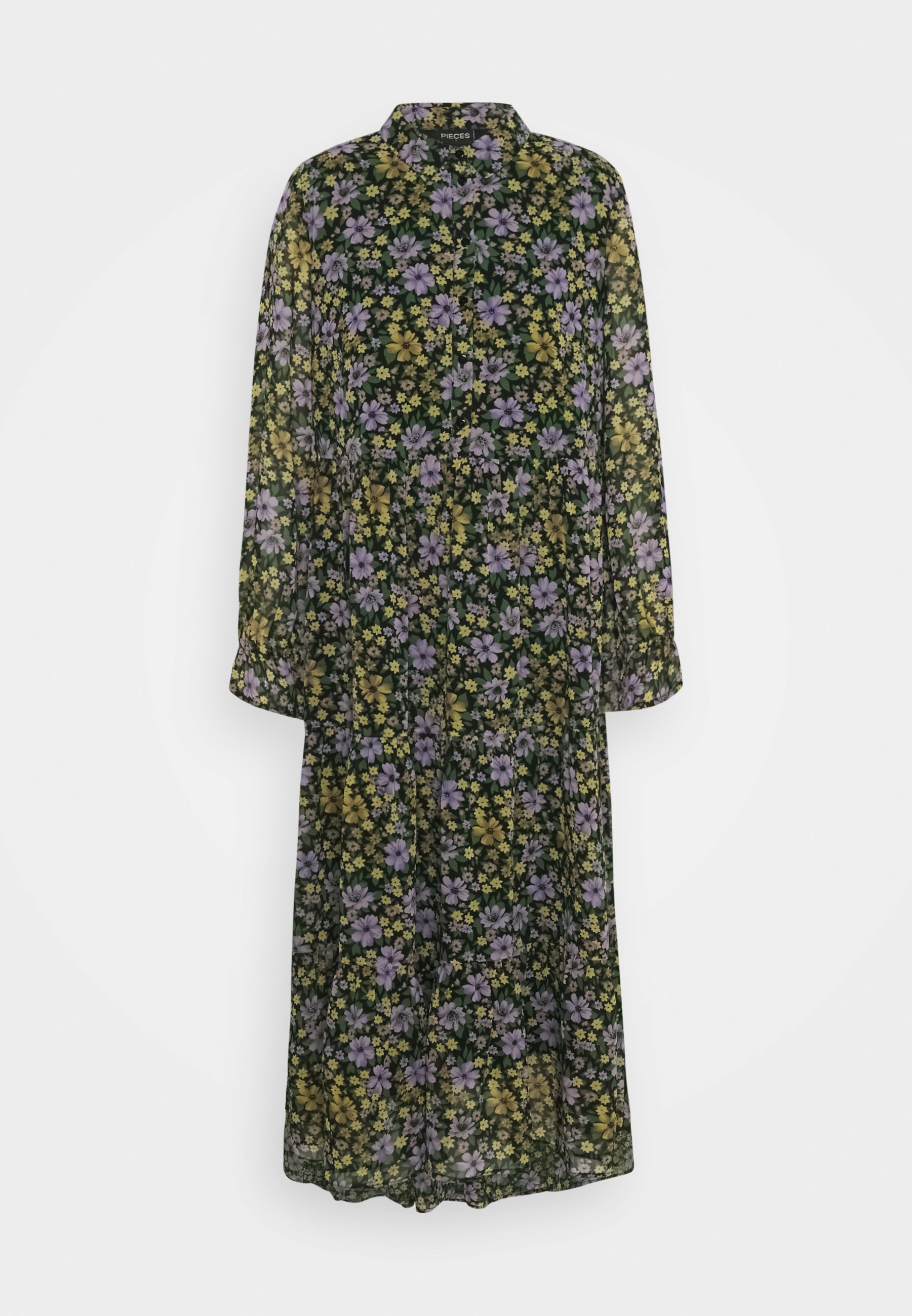 Women PCVIANA MIDI DRESS - Shirt dress