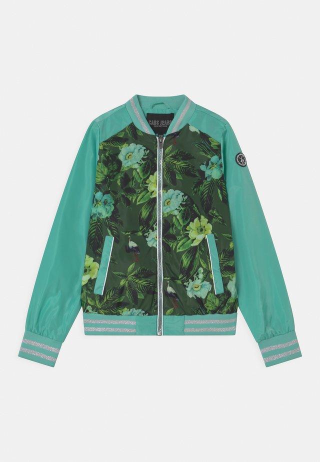 ZANZIE - Bomber Jacket - turquoise