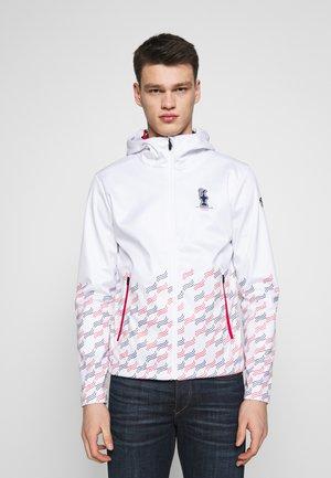 HOODED JACKET - Summer jacket - white