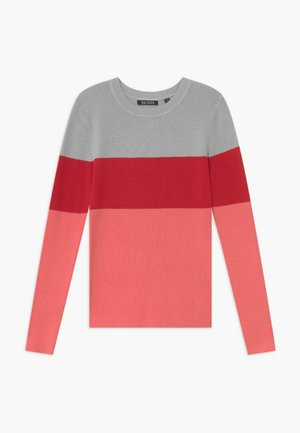 TEENS COLOURBLOCK JUMPER - Svetr - lachs