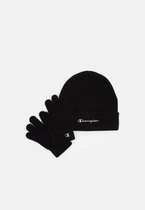GIFT SET UNISEX - Bonnet - black
