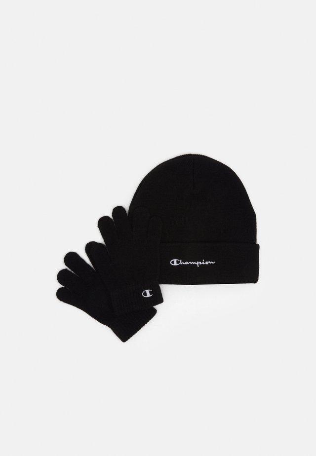 GIFT SET UNISEX - Mütze - black