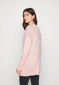 Abercrombie & Fitch - ICON CARDI - Cardigan - light pink - 2