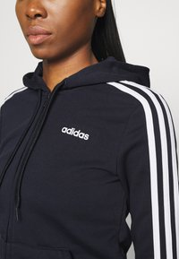 adidas Performance - Zip-up hoodie - legend ink/white - 5