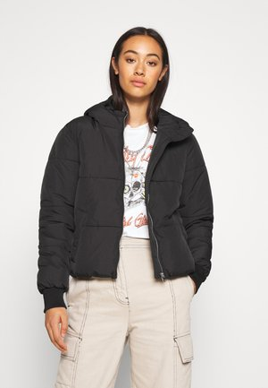 JDYNEWERICA HOOD - Winter jacket - black