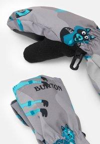 Burton - TODDLER GROMMITT BEAR UNISEX - Palčáky - grey/turquoise - 1