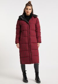 myMo ROCKS - Winter coat - rot schwarz - 0