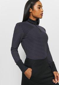 Nike Golf - DRY ACE - Sports shirt - black/gridiron - 3