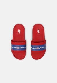 Polo Ralph Lauren - BENSLEY III UNISEX - Mules - red smooth/royal - 3