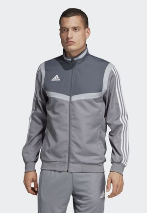 TIRO 19 PRE-MATCH TRACKSUIT - Veste de survêtement - grey/ white